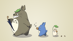 Totoro March by Inveeous