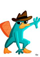 Go Fund Me Commission: Perry the Playtpus by starlightv