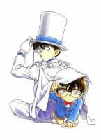 Kaito and conan by Yumi--mystery