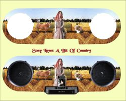 Sony Loves A Bit Of COUNTRY by orionshope