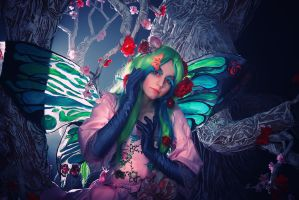 witch - butterfly by Haruhi-tyan