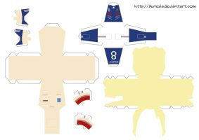 papercraft - France World Cup by Furesia
