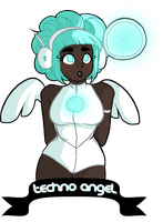 Techno Angel by tickeet