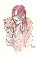 Sketch-Dustfinger and Gwin by K4gz