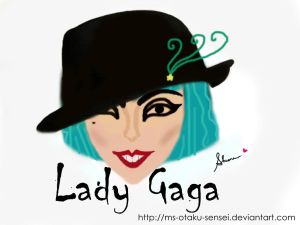 + I love LADY GAGA + by ms-otaku-sensei