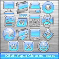 KSoft Aqua Chrome v1.0 by KSoft