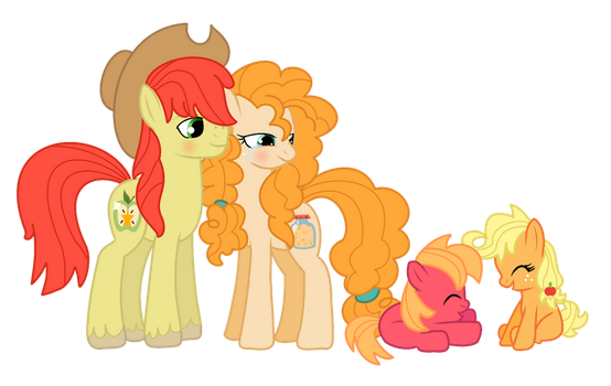 The Apple Family by darbypop1