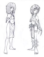 Eliat costume 1 and 2 by Erto1986