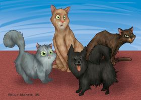 My Pets by Bloodzilla-Billy