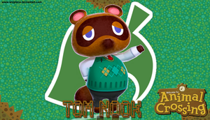 Animal Crossing- Tom Nook Wallpaper by Wizplace