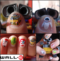 wall-e nails 2 by Ninails