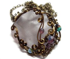Shadowsea Pendant no. 11 by sojourncuriosities