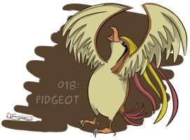 018: Pidgeot by Speedvore
