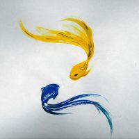 Watercolor fish. by hyperpro