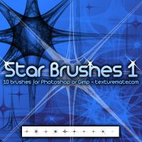 Star Brushes 1 by AscendedArts