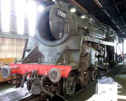 engine sheds at GROSMONT NYMR 75029.50h, by Sceptre63