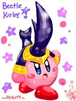 Beetle Kirby by PoyosEpicProductions