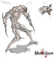 The Pale Ones _ Concept Art_Blood Core PC by neometalero