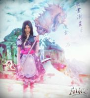 Alice Liddell (Silk Maiden Dress) Edited version by SilkMaidenWonderland