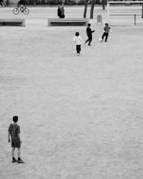 Soccer in the park by danieldenieve