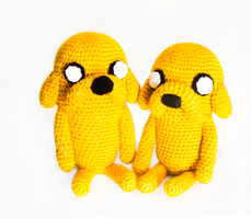 Adventure Time - Jake Amigurumi by candypow