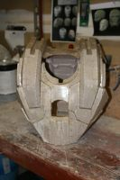 War Machine pepakura chest by streetdreamschoppers