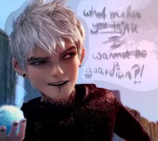 Jack Frost - doesn't want to be a guardian by CrackedHopehead