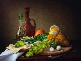 Dietary still life by Daykiney