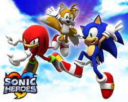 Sonic Heroes WallPaper by Lucas-da-Hedgehog