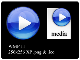 WMP 11 icons for dock,Win by archdevil
