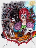 the origin of laughing jack by NENEBUBBLEELOVER