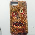Necronomicon custom I phone cover by Rene-L