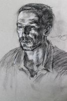 Man in Charcoal by TheChasRobin