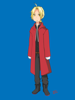 Edward Elric by rexks