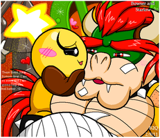 :There there King Bowser dear: by Bowser2Queen