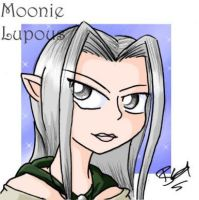 Moonie Lupous headshot by evilchibiminion