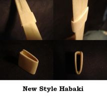 New Style Habaki by piratecaptain