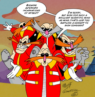 Ask Dr. Robotnik 5 by FractiousLemon