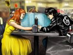 Ginny-Sandy and Harry-Danny by BuzDeeZul