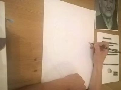 Robin Williams SpeedDrawing Timelapse by LordDoomhammer