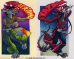 Flaerion + Kazdra badges by kattything
