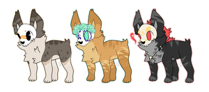 Skull Doge Adopts {0/3} by LoserDoge