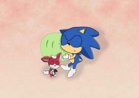 Sleeping with a Dango by Lucky-Sonic-77-d