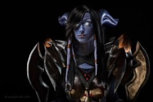 World of Warcraft (Draenei Warrior) 9 by Feyische