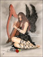 Music of the night by Katerina-Art
