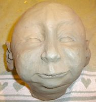 baby head front by MomIsMean