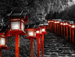 Lamps in Japan by gamerholy