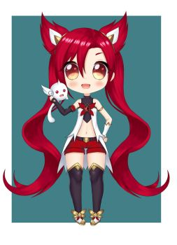commission: Jinx Star Guardian by chechoski
