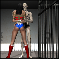 Amazon Prisoner by LordSnot