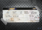 Red Dwarf - Boarding Pass by P2Pproductions